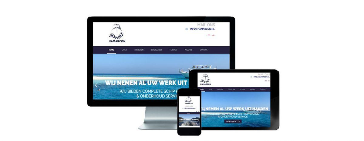 Website Hamarcon B.V.