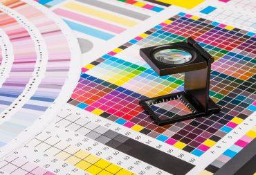 Digitale en drukwerk kleuren