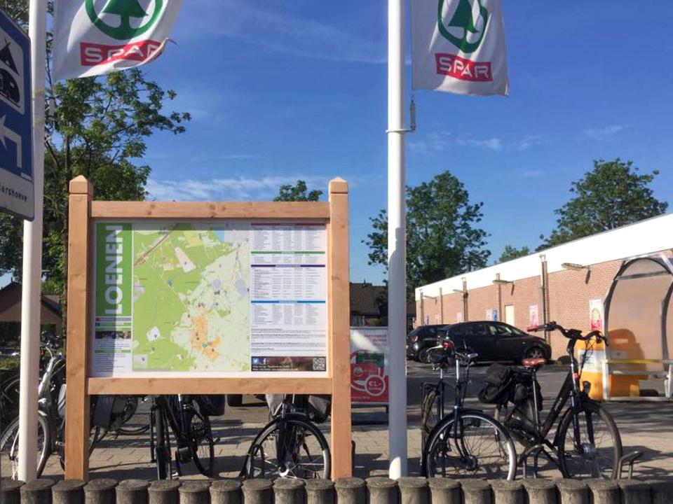 Plattegrond en Minimap Loenen