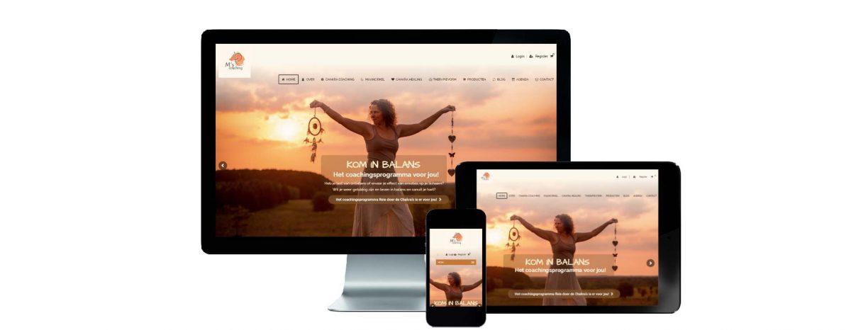 Website M's Coaching