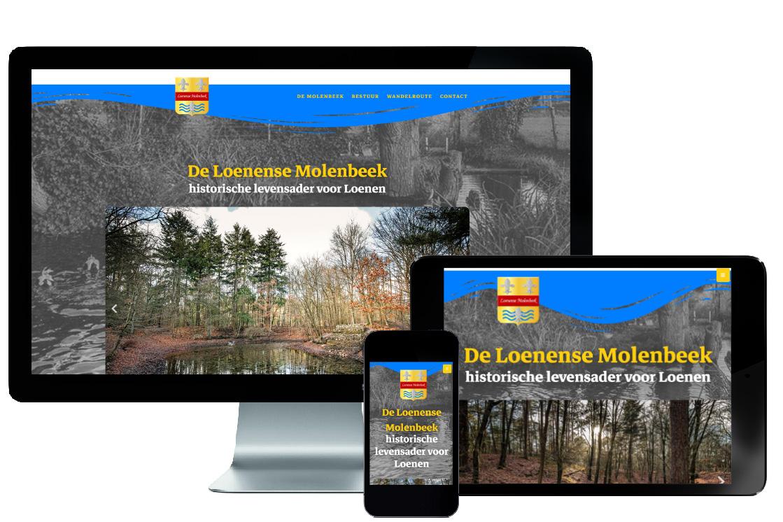 responsive webdesign, loenen