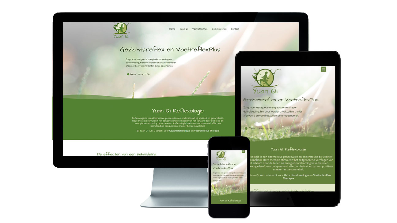 responsive ontwerp website